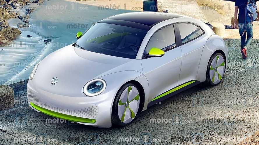 Volkswagen Fusca elétrico: assim poderia ser o visual do ID. Beetle
