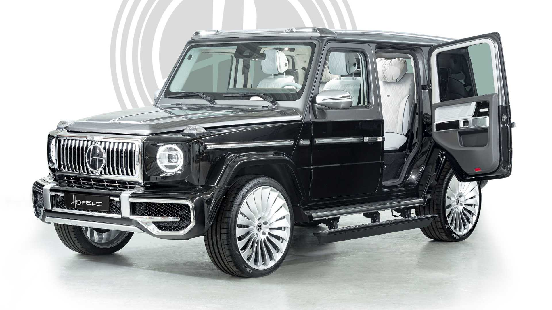 Mercedes G-Class Gets Suicide Doors From Hofele For Added Opulence
