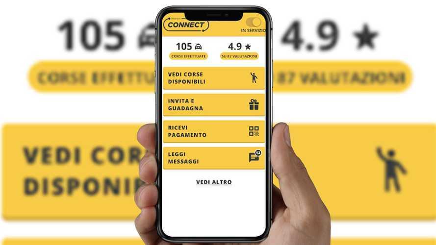 App per taxi alla riscossa, Wetaxi Connect dopo Roma arriva a Milano