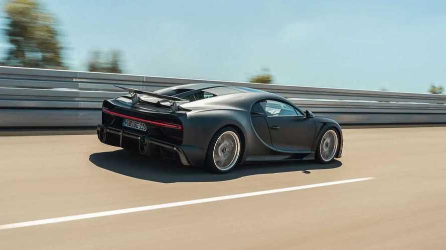 Les Bugatti Chiron Super Sport 300+ et Pur Sport à Nardò
