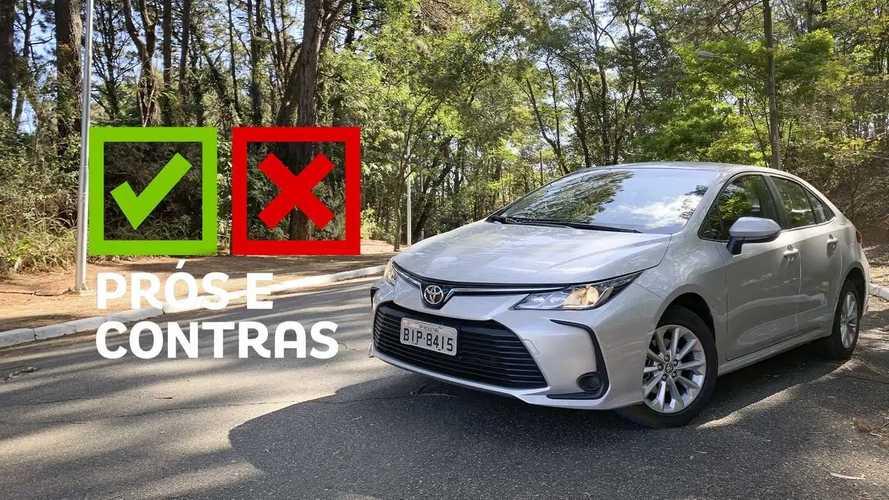 Toyota Corolla GLI 2020: Prós e Contras