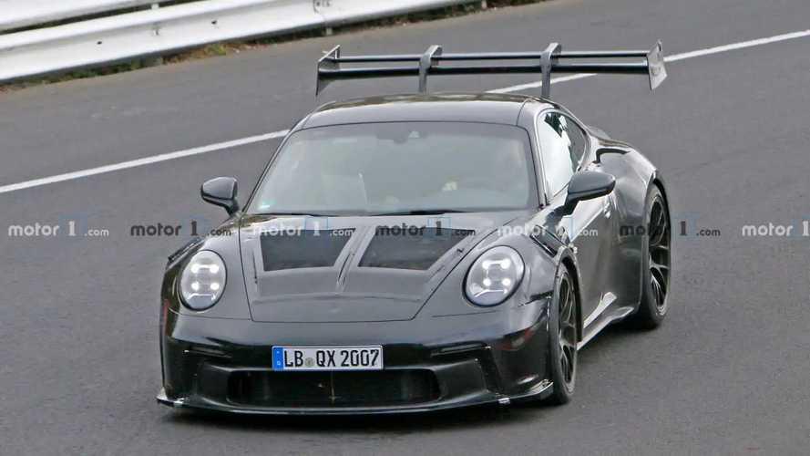 Porsche 911 GT3 RS (992), fotos espía