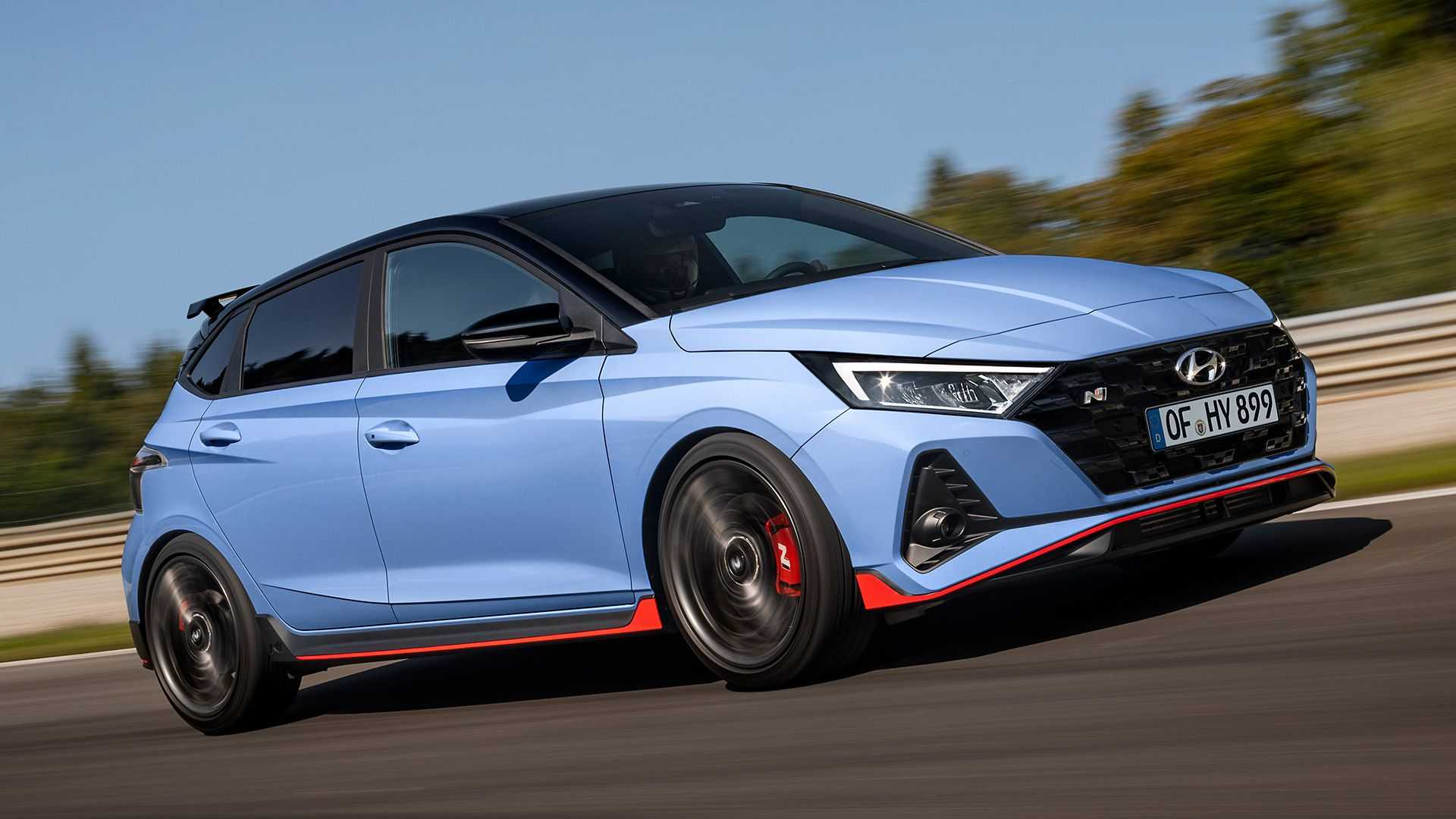 2021 Hyundai i20 N Debuts As A 204-HP Compact Hot Hatch - Motor1