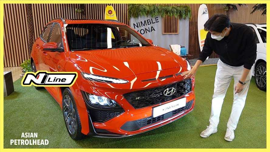 2021 Hyundai Kona Shows Its Facelift And N-Line Model On Video