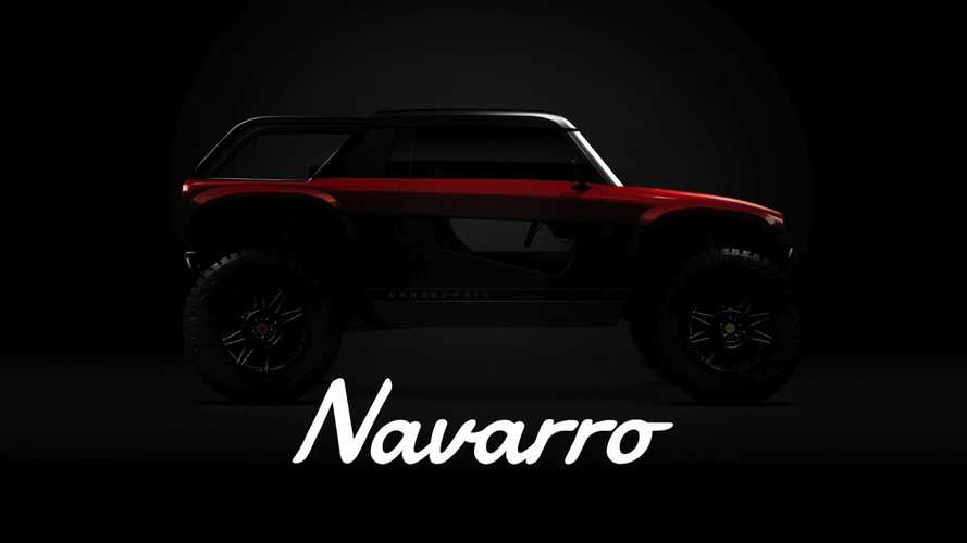 Vanderhall Teases New Navarro EV Off-Roader With Four Actual Wheels