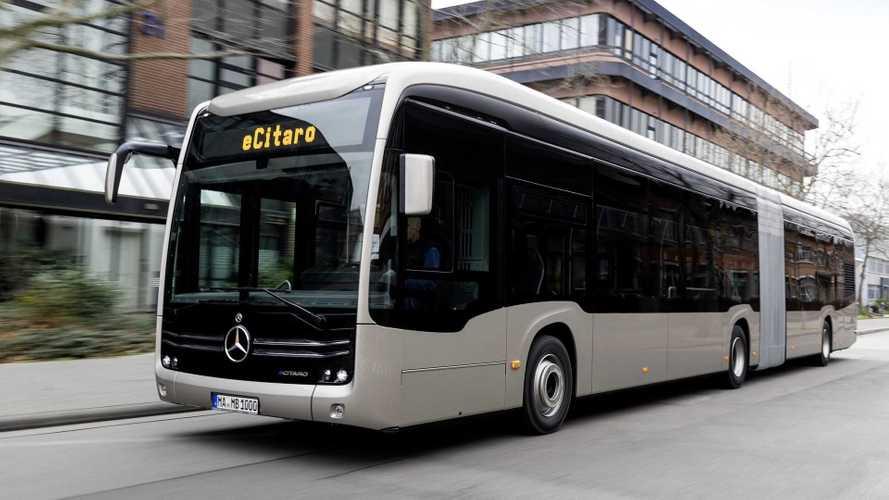 Mercedes-Benz lança 1° ônibus elétrico com baterias de estado sólido