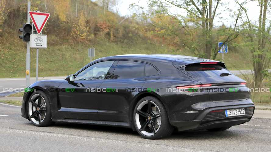Porsche Taycan Cross Turismo Electric Wagon Spotted With No Camouflage