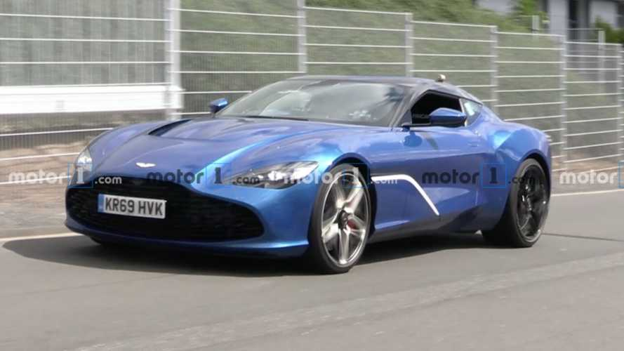 Aston Martin DBS GT Zagato Spied On Video Lapping The Nurburgring