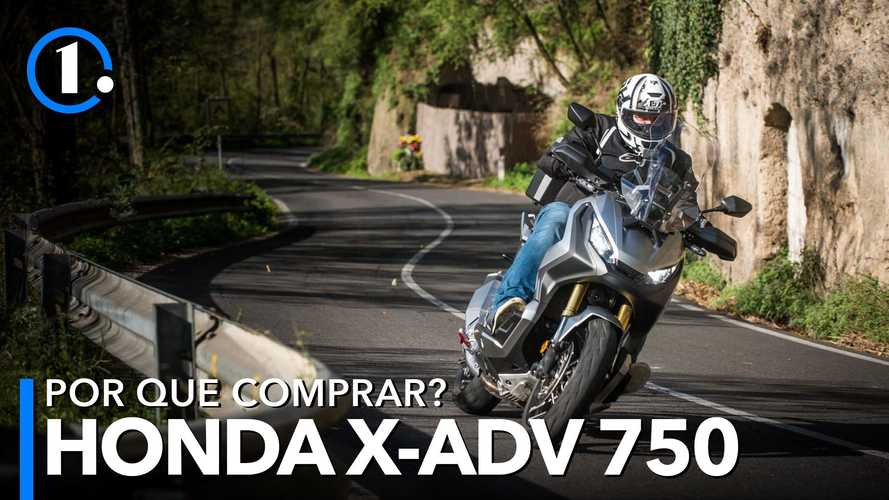 Por que comprar? Honda X-ADV 750 é versátil mistura de scooter com big trail
