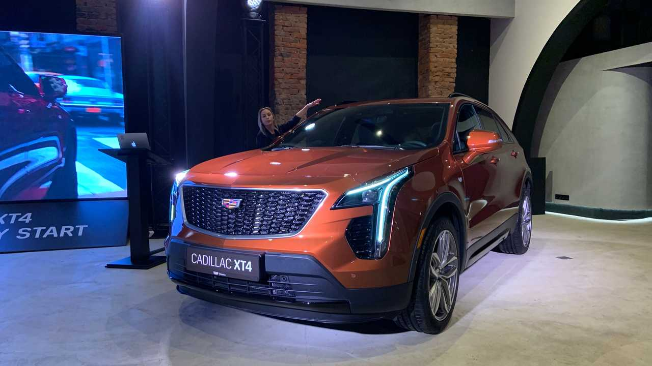 Cadillac XT4 - Russian launch