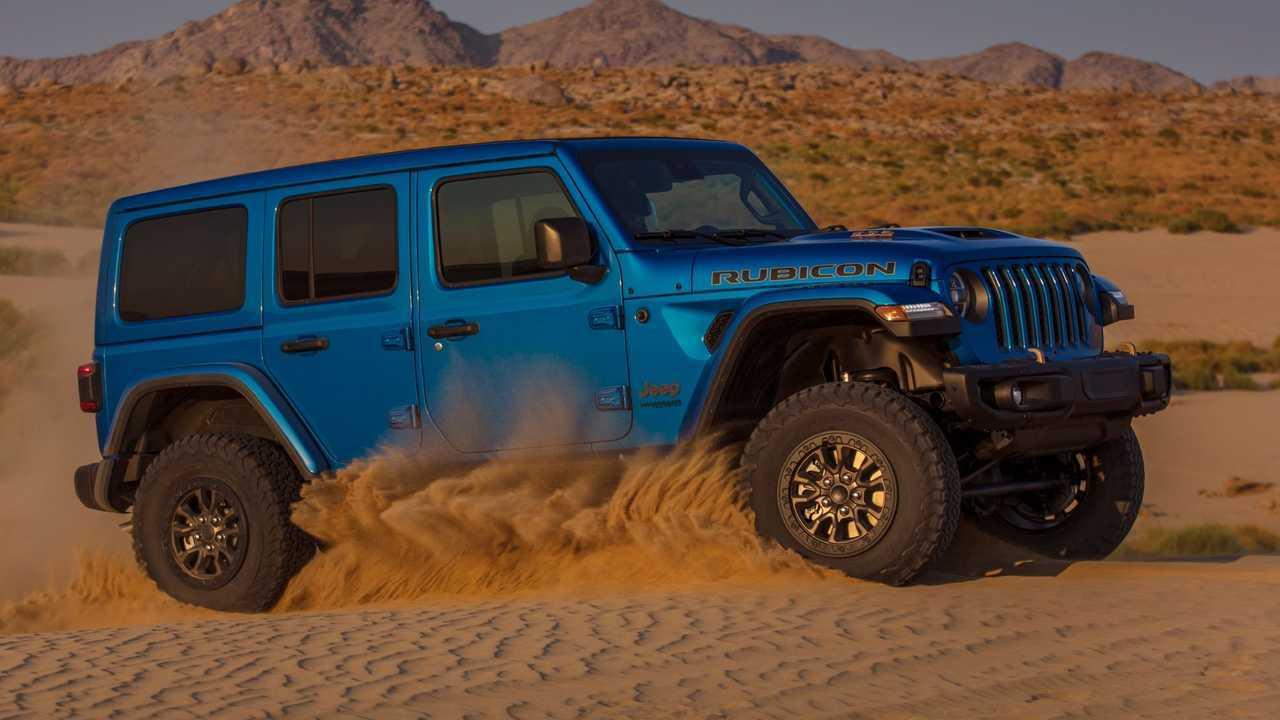 2021 Jeep Wrangler Rubicon 392 Side View