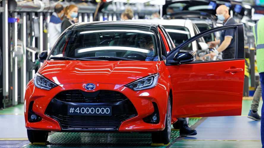 Toyota Yaris, record anche produttivo: 4 milioni quelle fatte in Francia