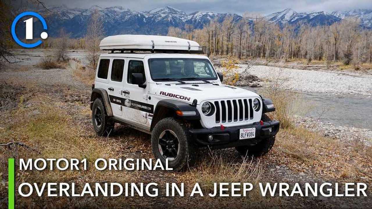 Jeep Wrangler Rubicon Overlanding
