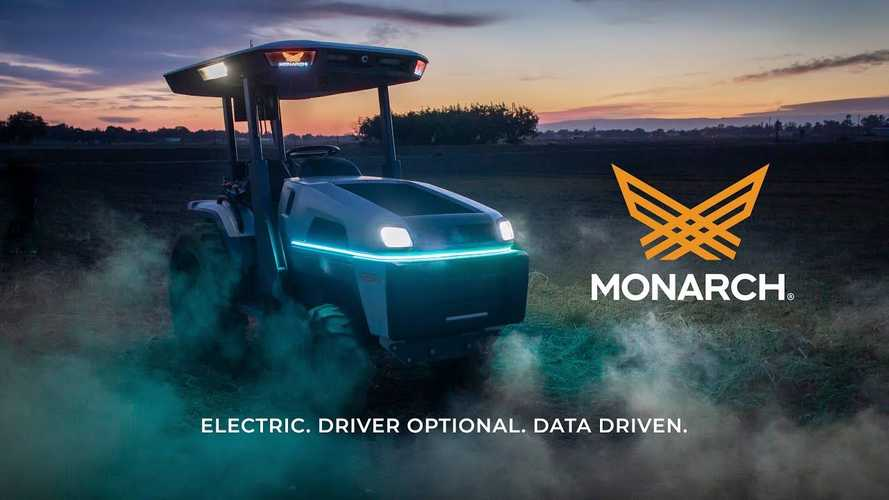 Monarch Driverless Electric Tractor: You Can Drive It If You Want