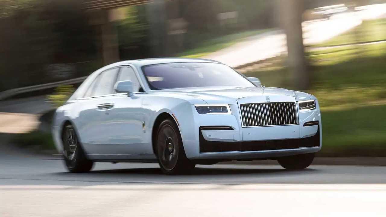 2021 Rolls Royce Fantasma Exterior Photo