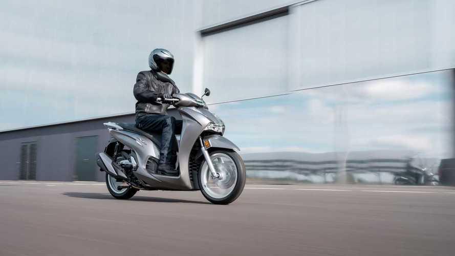 Honda lanza los scooters SH350i y PCX125 2021
