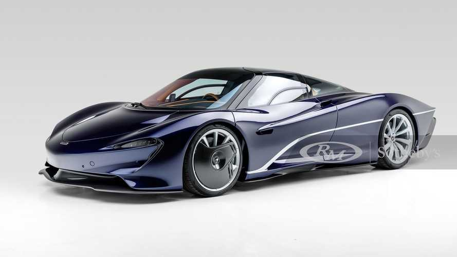 Here's a chance to bid millions for a barely-driven McLaren Speedtail