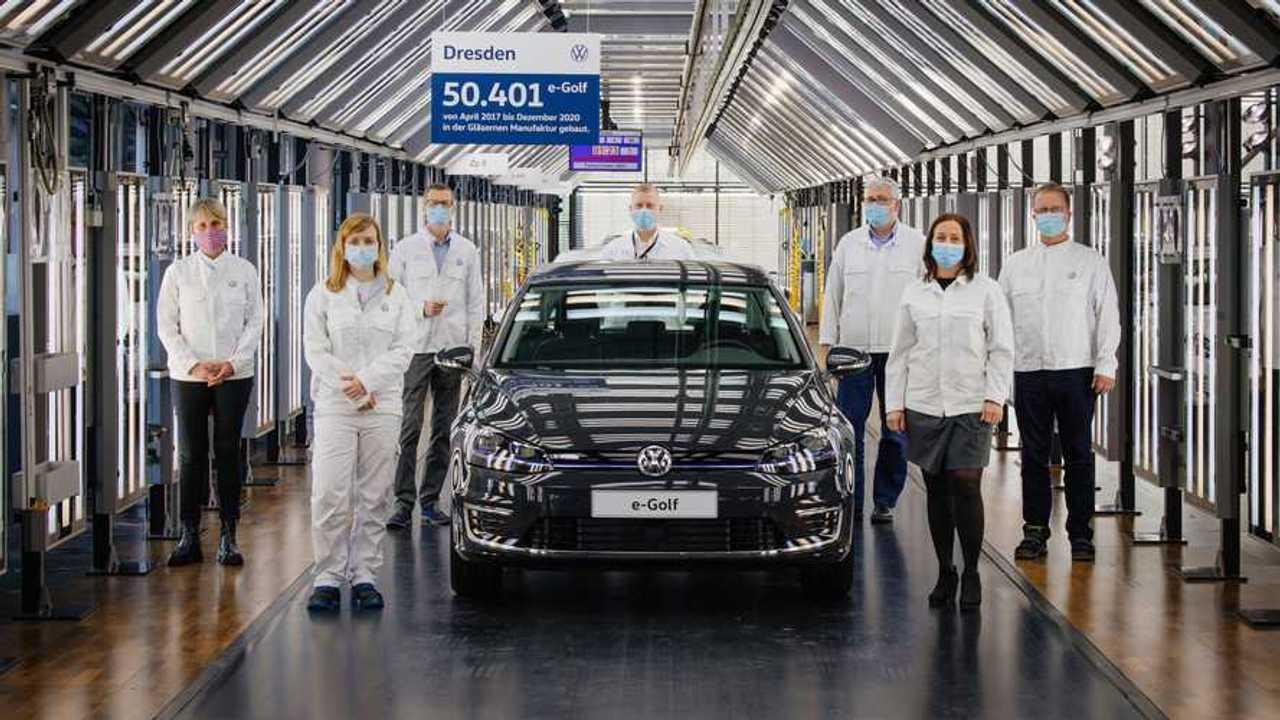 Volkswagen e-Golf Üretim Sonu
