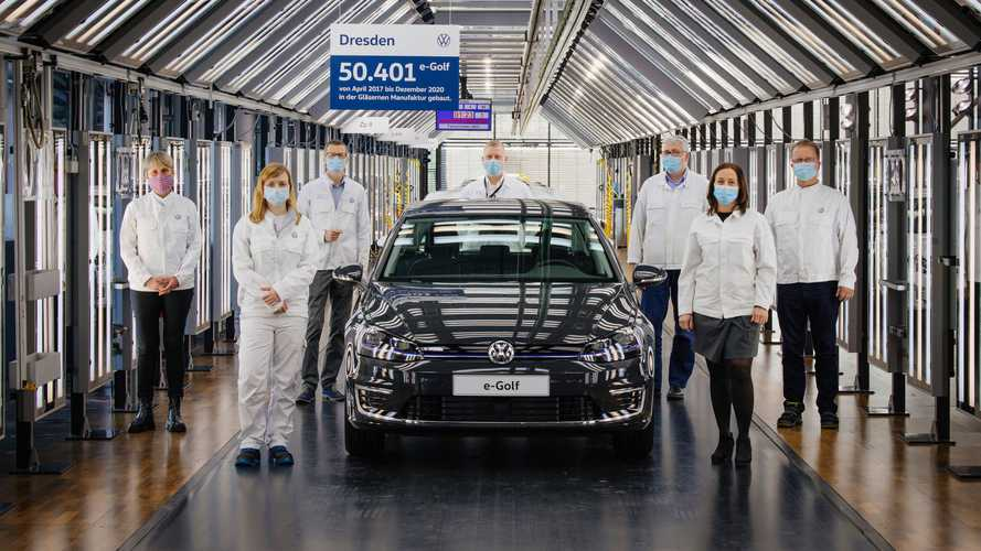 VW E-Golf Production Comes To An End