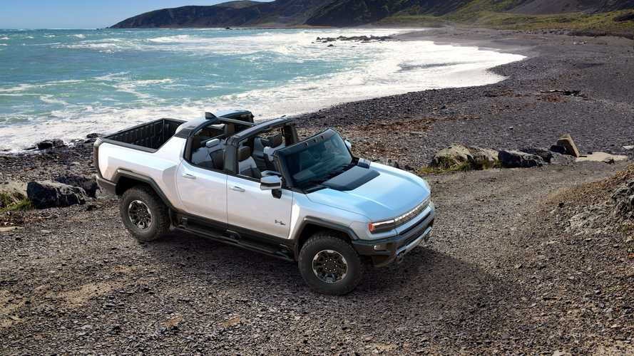 GMC Hummer Electric Truck: Images, Videos Galore - Plus Crab Walk In Action