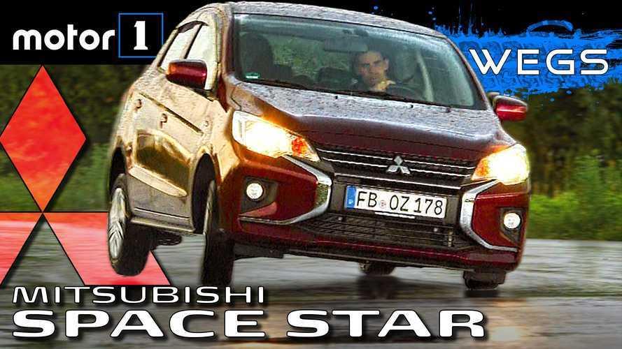Video: Mitsubishi Space Star im Test - Gigantische 88 Nm!