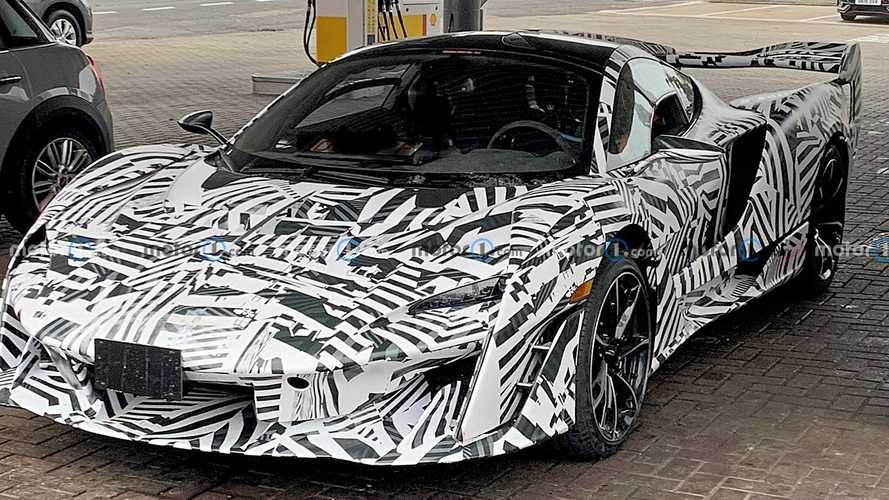 McLaren Sabre spied looking razor sharp