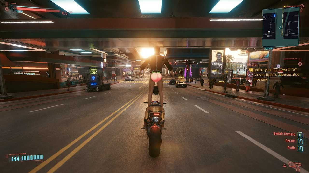 Cyberpunk 2077 Motorcycle Bugs