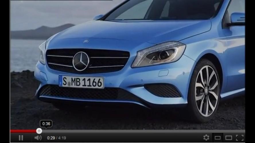 VÍDEO: Design do novo Mercedes Classe A em destaque