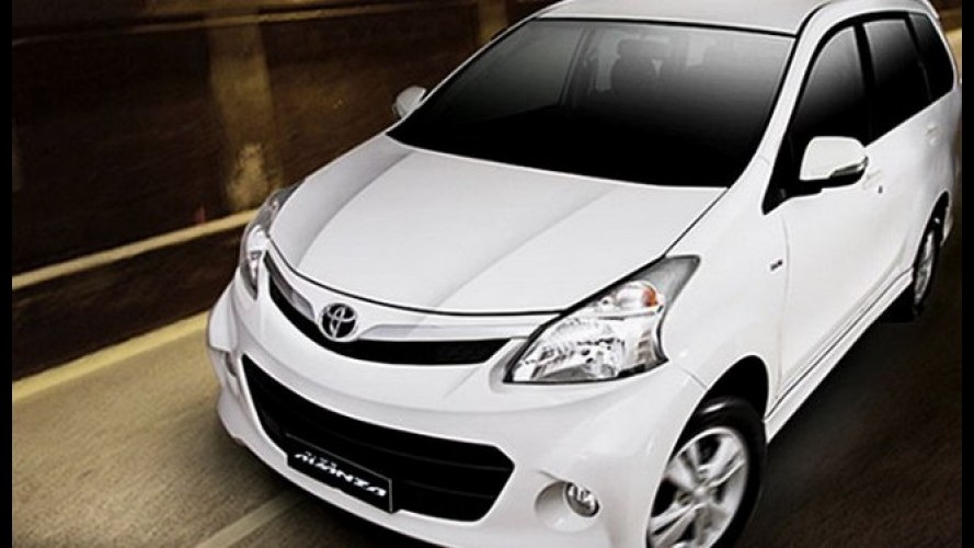 Novo Toyota Avanza 2012 é lançado na Malásia