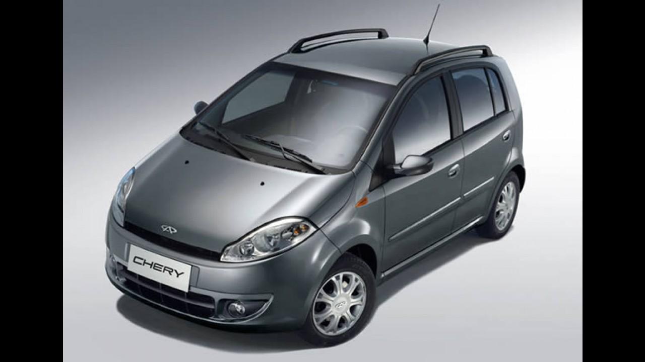Chery já oferece Face equipado com motor flex por R$ 29.990
