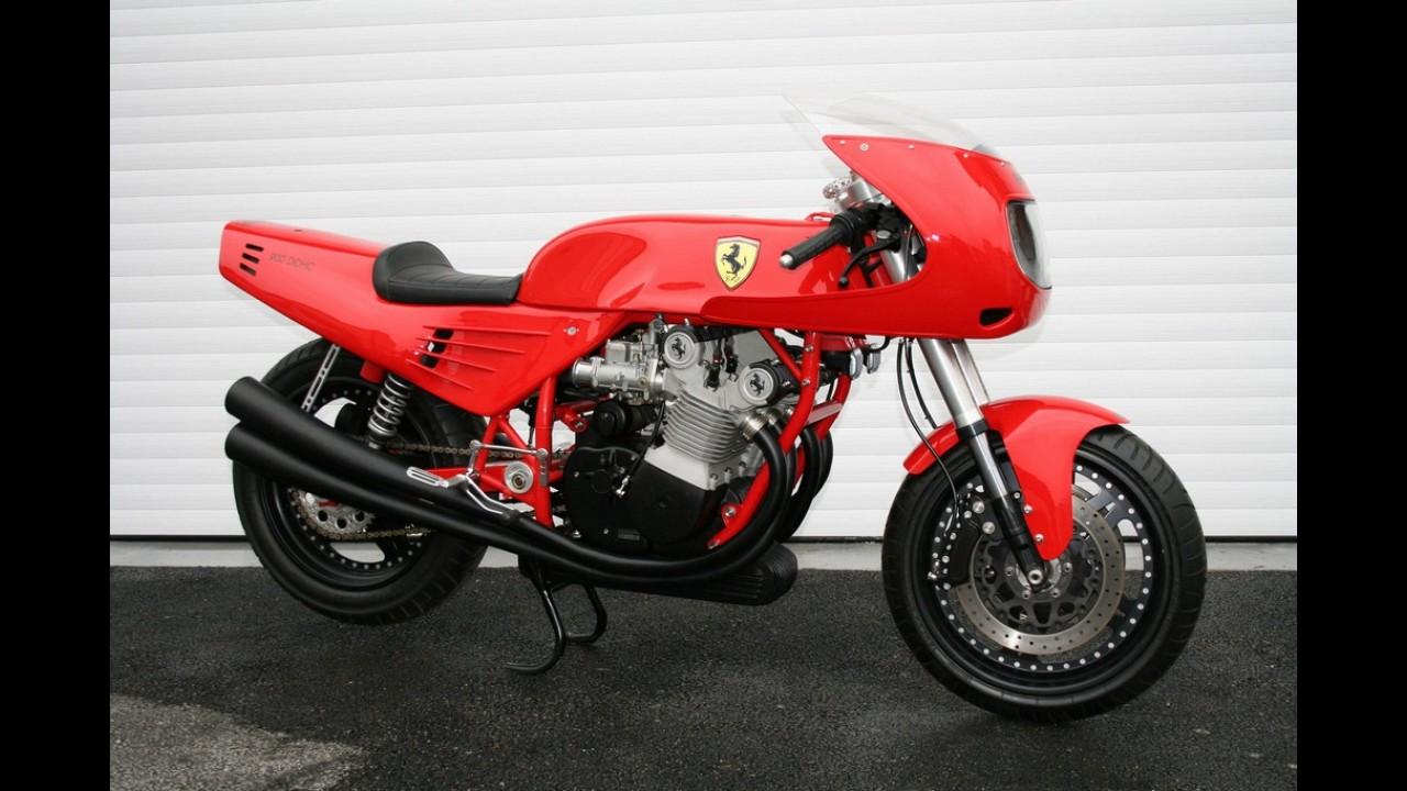 Ferrari registra patente de motor V-Twin para motocicleta