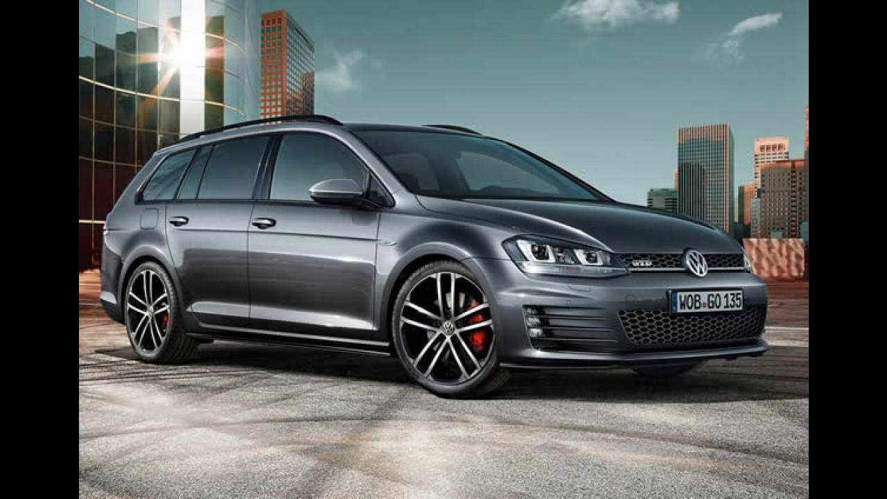 VW Golf Variant GTD: 0 a 100 km/h em 7,9 s e consumo de 22,7 km/l