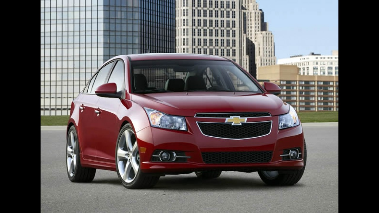 GM anuncia recall do Cruze nos Estados Unidos