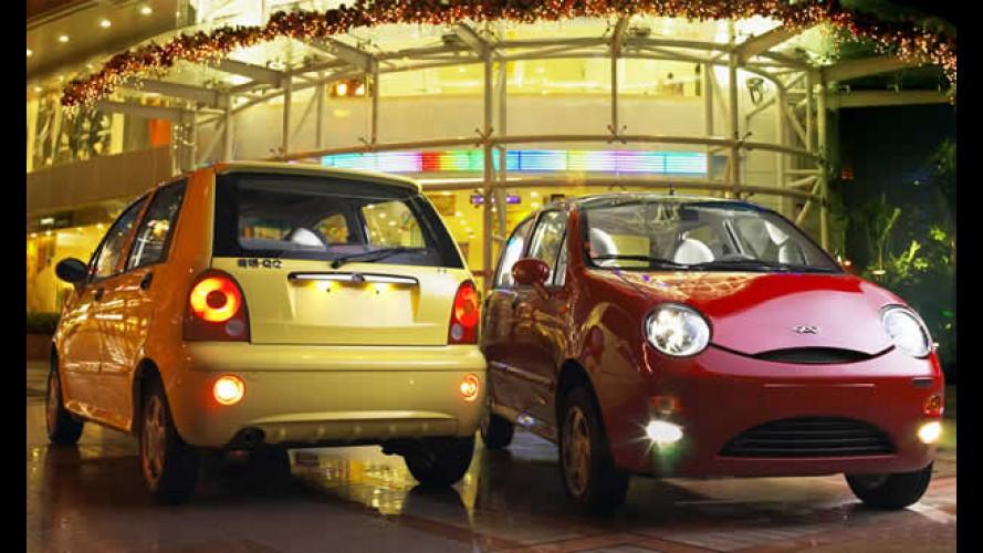 Chery QQ chega no dia 28 de abril para ser o carro mais barato do Brasil