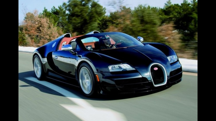 Próxima geração do esportivo Bugatti Veyron poderá ser híbrida