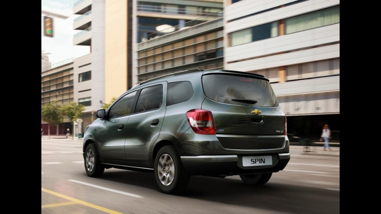 Chevrolet Spin ganha motor 1.3 turbodiesel de 75 cv na Argentina