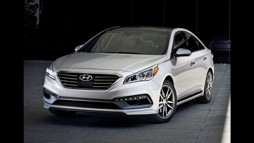 """Hyundai Sonata ganhará facelift urgente para ficar menos """"tiozão"""""""
