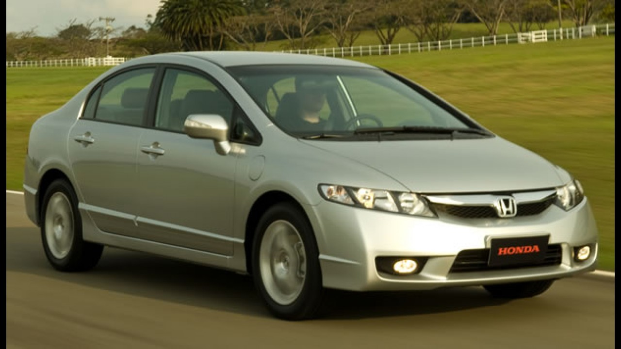 Honda oferece New Civic LXS com 60% de entrada e saldo sem juros