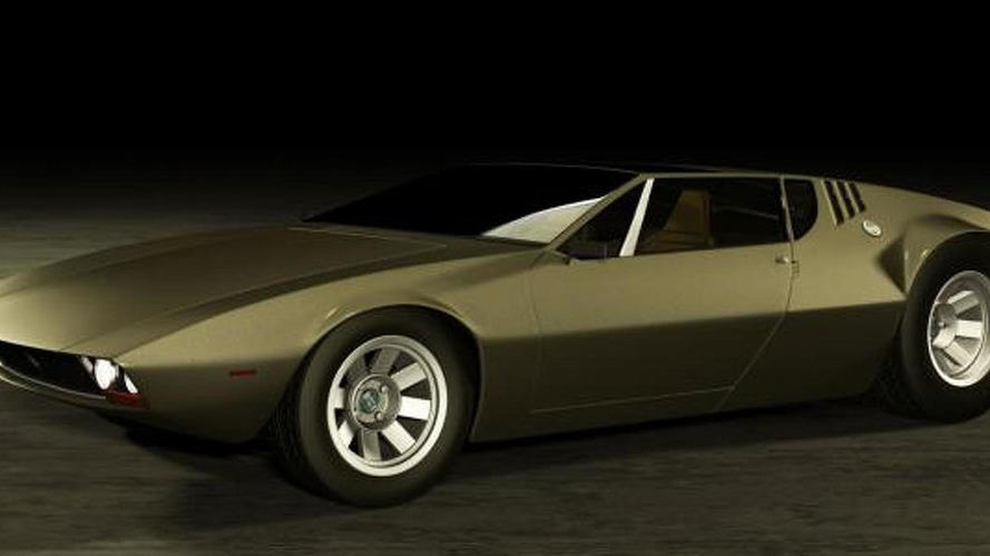 De Tomaso Mangusta Legacy Concept - a modern interpretation