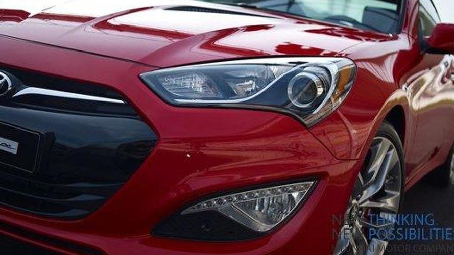 Hyundai teases the 2013 Genesis Coupe
