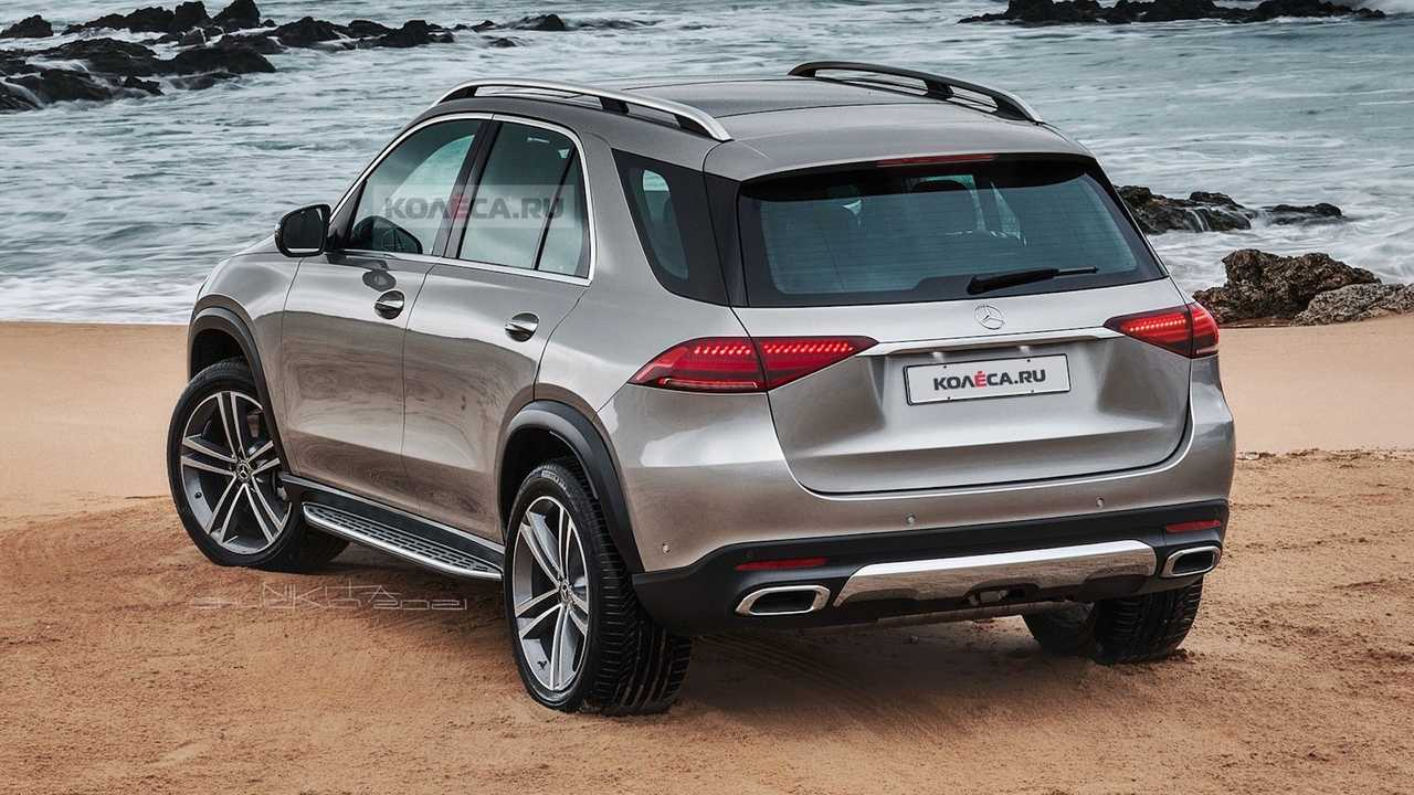 Mercedes GLE Facelift Unofficial rendering
