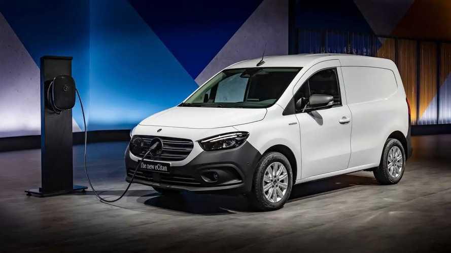 Yeni Mercedes eCitan ile tanışın