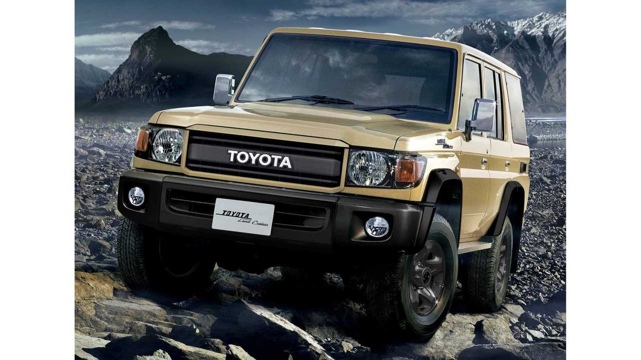 toyota land cruiser 70th anniversary edition front