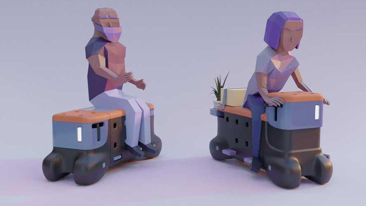 Talk or Drive (TOD): Studenten haben eine fahrbare Sitzbank entwickelt