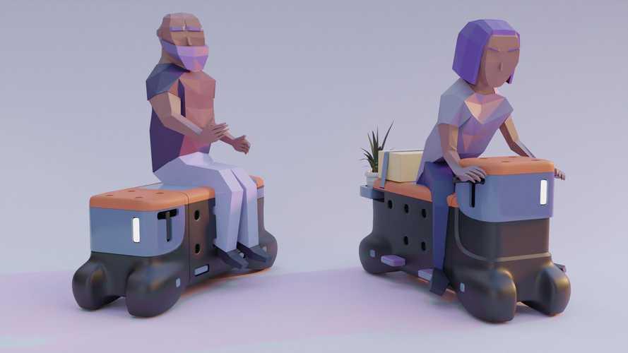Projekt TOD: Sitzbank verwandelt sich in Elektro-Roller