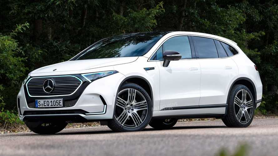 Mercedes–Benz выпустит большой кроссовер EQE в следующем году