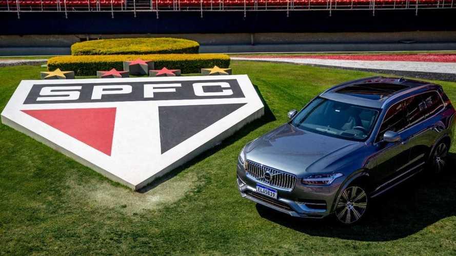 Volvo e São Paulo FC fazem parceria para promover a eletrificação