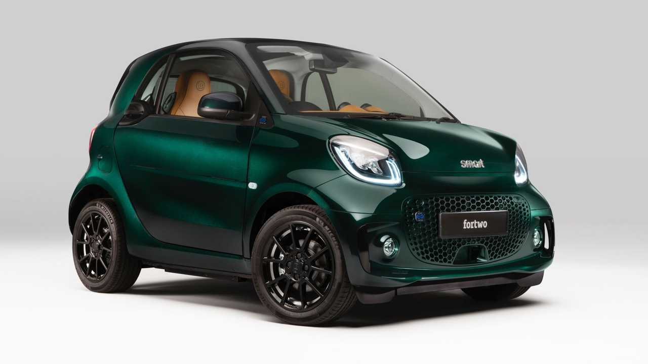 Smart EQ Fortwo Coupe Racing Green Edition UK-spec 15