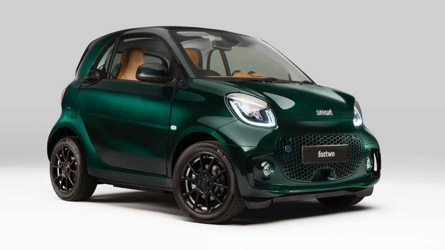 Edición especial Racing Green Edition para el smart EQ fortwo