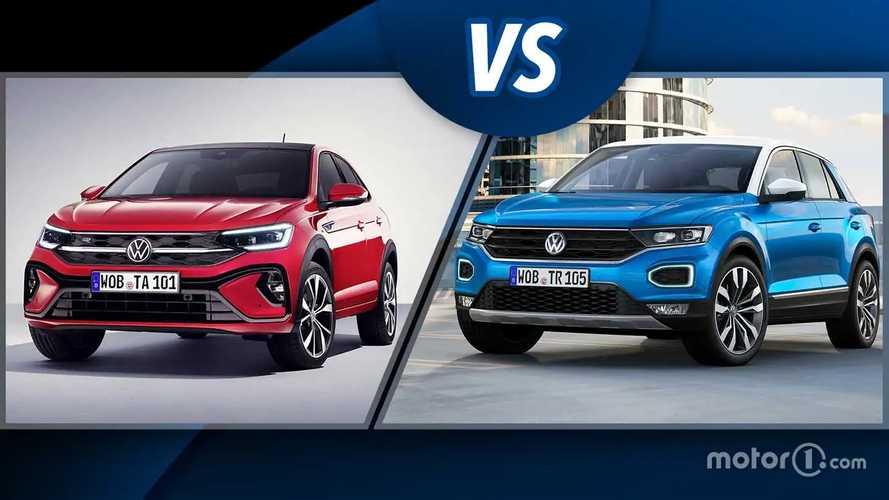 """Volkswagen Taigo vs T-Roc, il """"derby"""" dei SUV compatti ma grandi"""